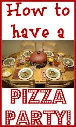 Link to how to have a pizza party!