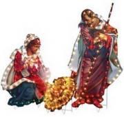 Fontanini outdoor nativity displays