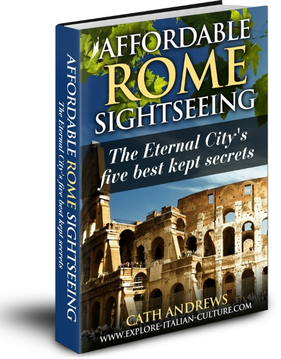 Affordable Rome sightseeing - free e-book