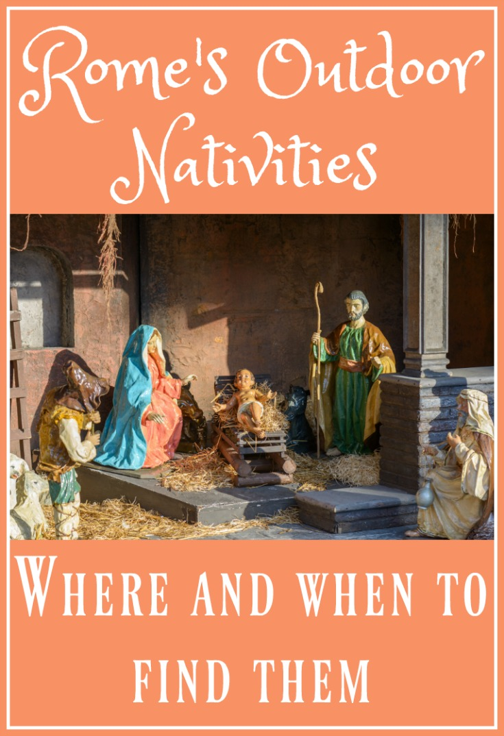 Rome's outdoor nativities.