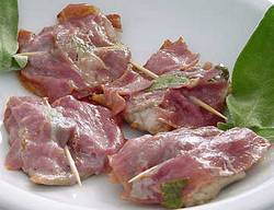 Saltimbocca recipe ingredients