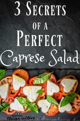 Caprese salad: secrets from an Italian kitchen.