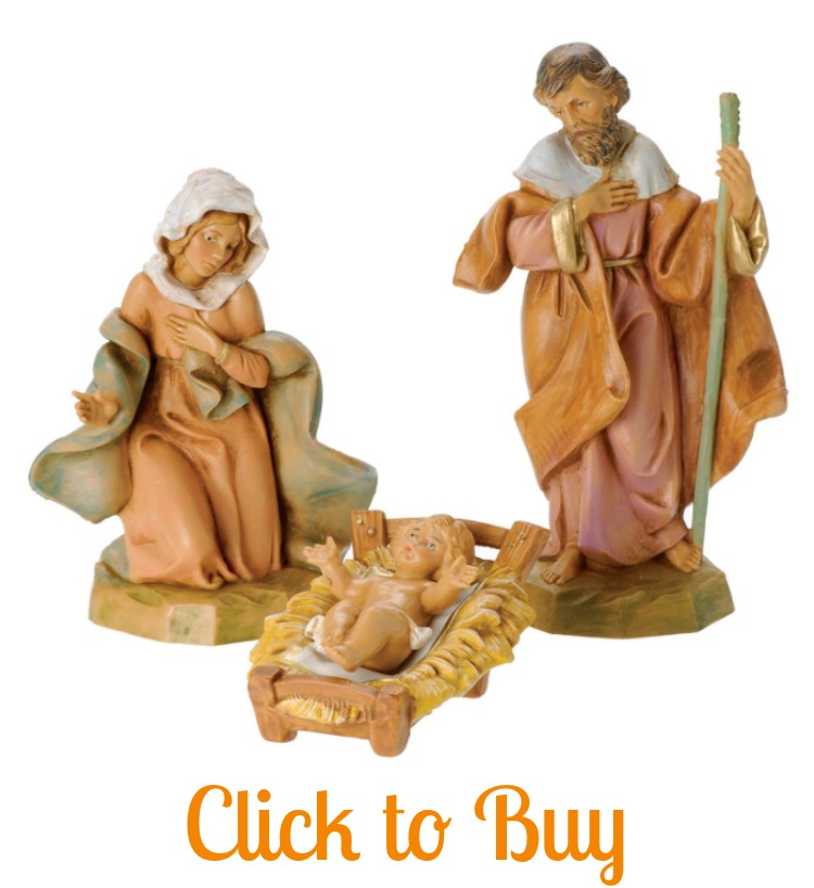 Holy Family figures.