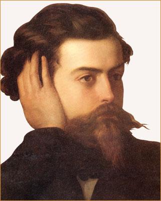 Goffredo Mameli, portrait.