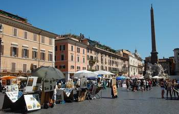 Shopping in Rome Italy