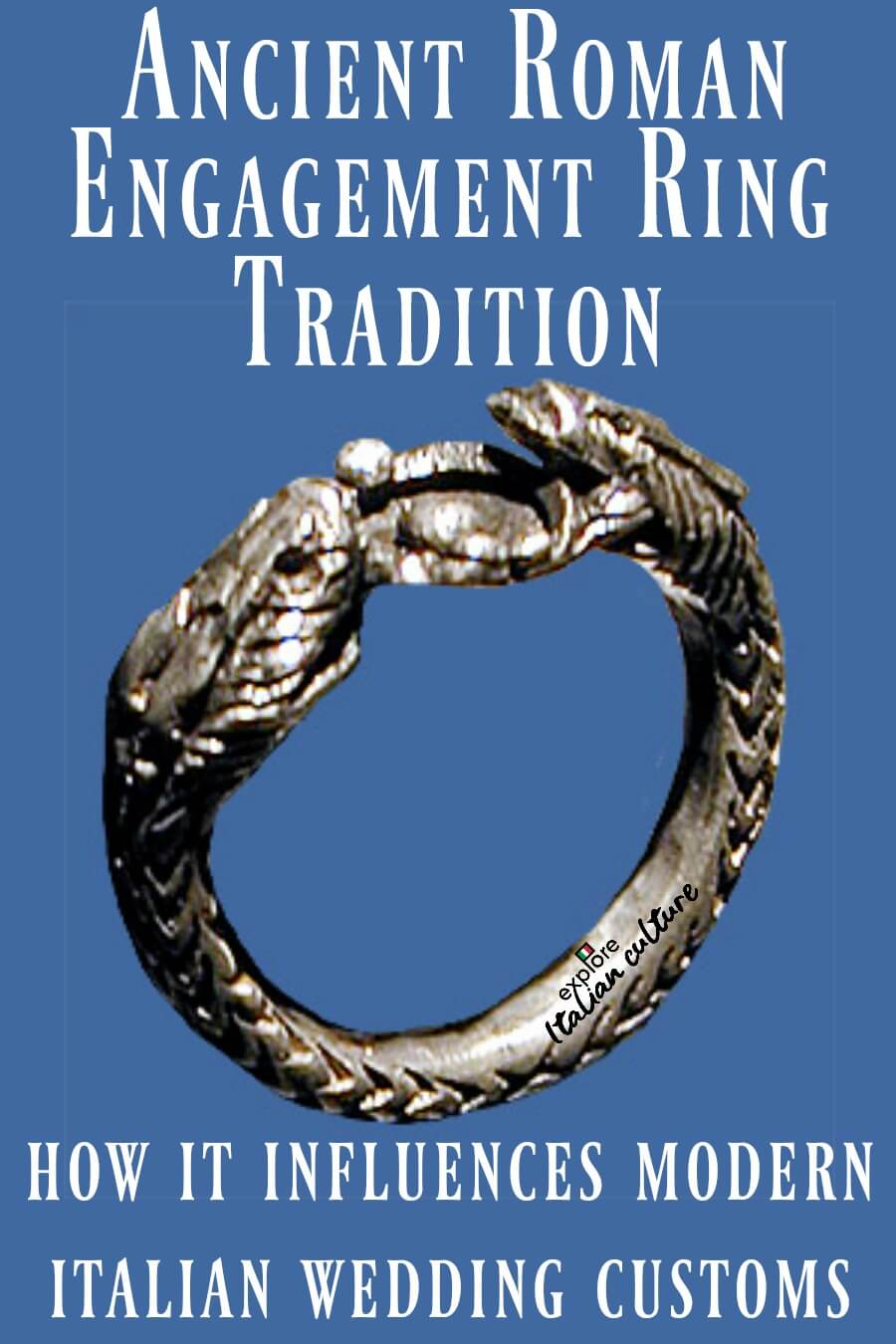 Ancient Roman engagement ring traditions - pin for later.