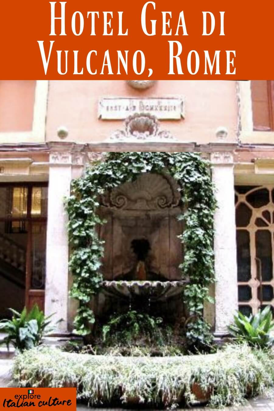 Hotel Gea di Vulcano, Rome Review - pin for later.