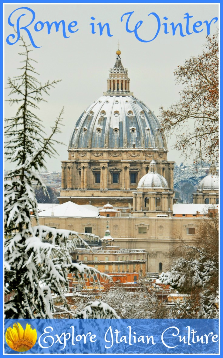 Rome in winter.