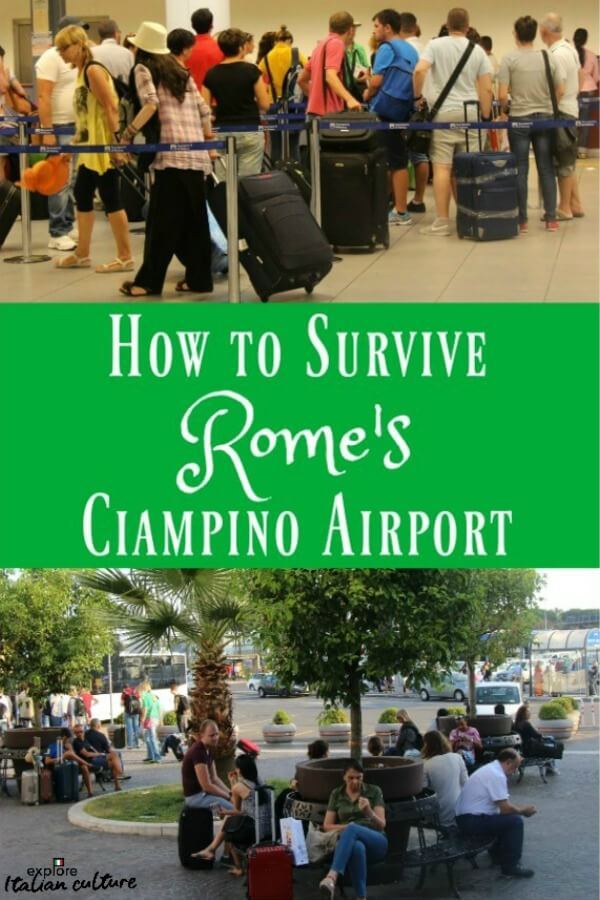 Ciampino airport, Rome, and how to survive it. #ciampino #romeitaly