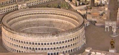 Roman Colosseum reconstruction