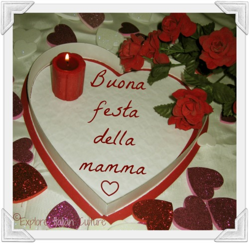 An Italian mother's day cake.