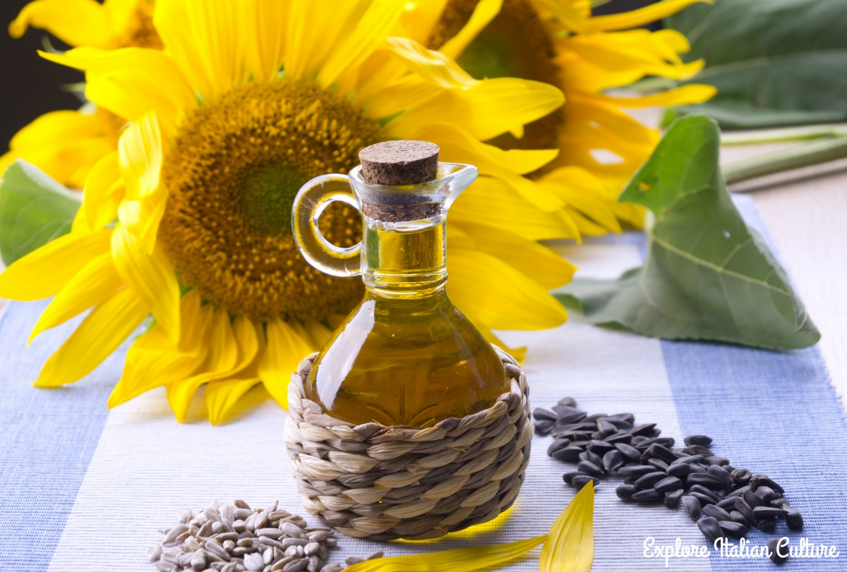 Sunflower, seeds and oil.
