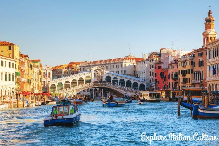 Grand Canal, Venice.