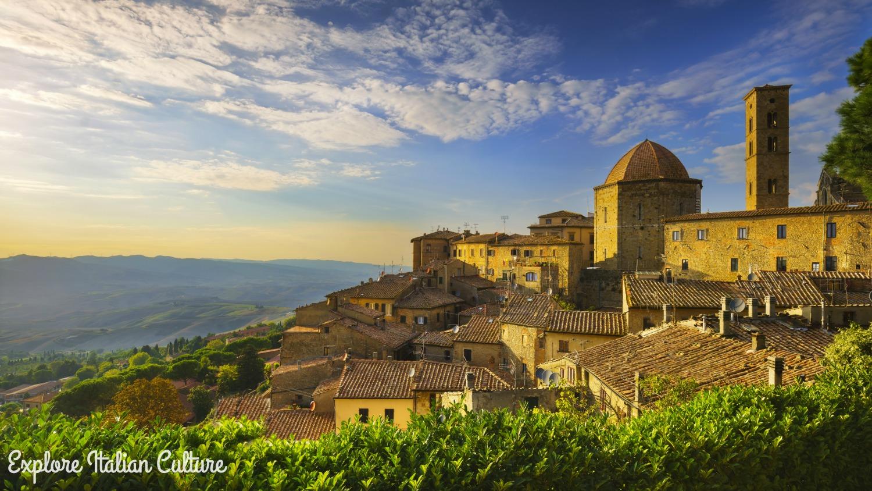 Italian village.
