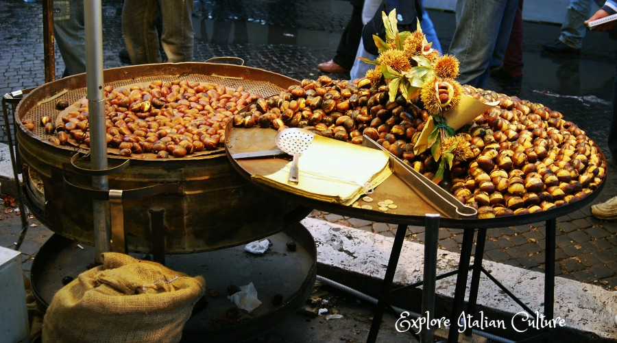 Chestnut seller.