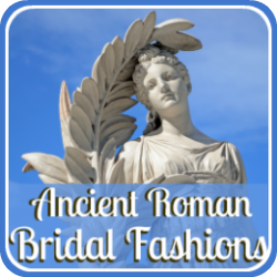 Ancient Roman bridal fashion - link.
