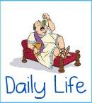 Ancient Roman daily life clickable link