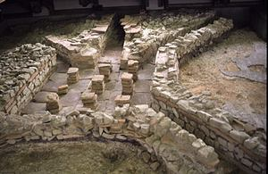 Ancient Roman plumbing system
