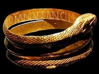 Ancient roman jewelry snake bracelet