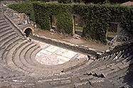 ancient roman theater pompeii
