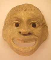 Terracotta mask
