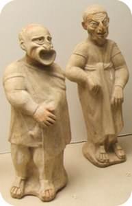ancient Roman drama masks