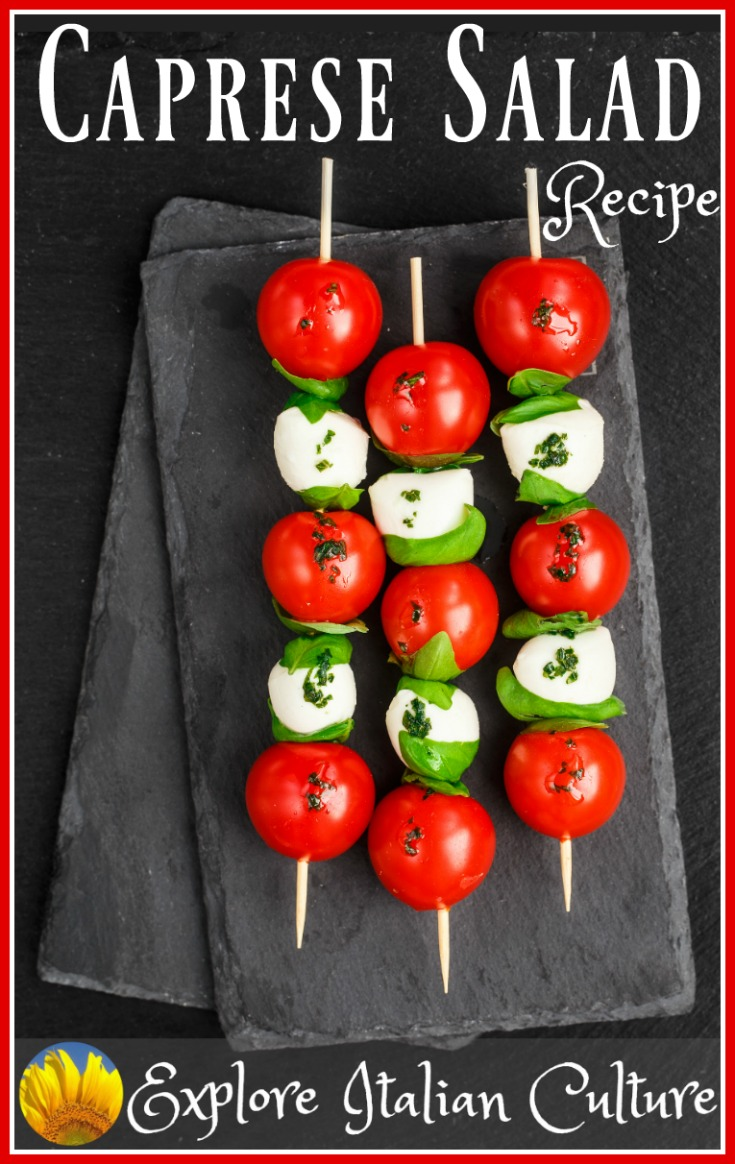 Caprese Salad: an authentic Italian recipe.