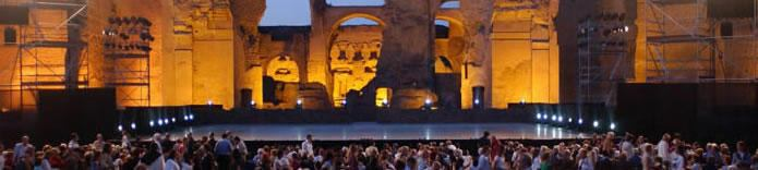 Opera at Caracalla baths