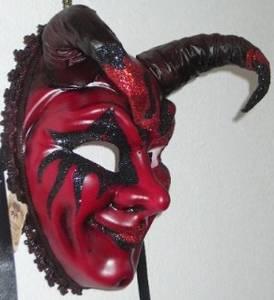 Carnevale Masks The Red Devil