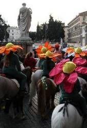Carnival magic on horseback!