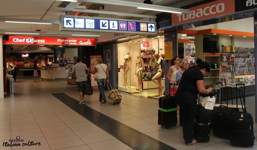 How to Negotiate Ciampino airport, Rome