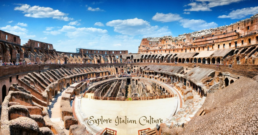 The Roman Colosseum: the Viator tour takes in parts that other tours cannot reach.