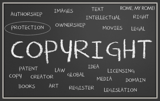 Our copyright policy keyword cloud