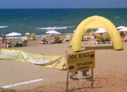 Italy beaches San Vincenzo