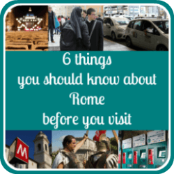 Click here for all you need to know about Rome before you travel.