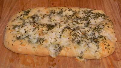 Focaccia bread recipe with rosemary