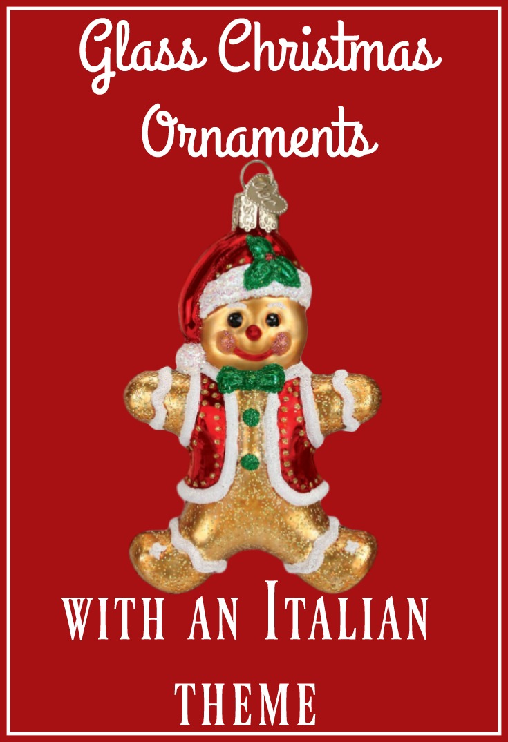 thumbnail glass ornaments - Italian Christmas Ornaments