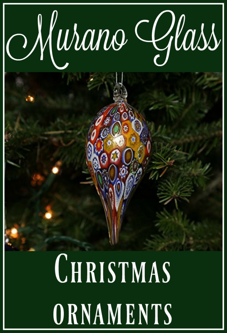 murano glass christmas ornaments - Glass Christmas Decorations