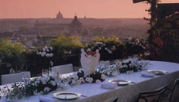 Hassler Rome wedding