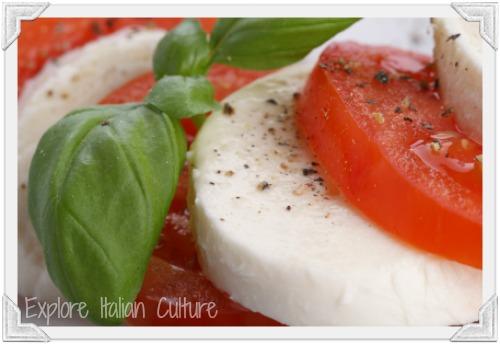Caprese salad - a delicious healthy meal