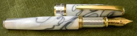 History of fountain pens modern