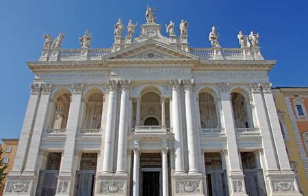 Lent calendar St John Lateran church