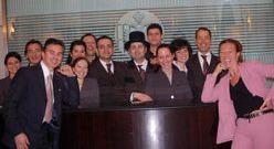 Hotel de Russie staff group