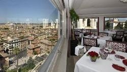Hotel Hassler Rpme Italy dining