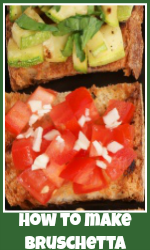 Make bruschetta link