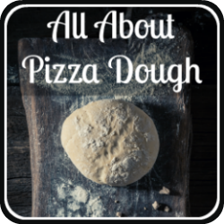 All about pizza dough - link.