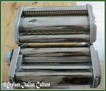 Our Imperia pasta machine