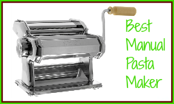 Buy an inexpensive pasta machine as Christmas gift