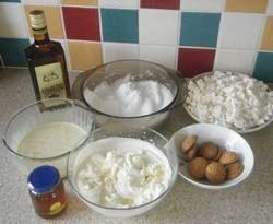 Italian Amaretto cake ingredients