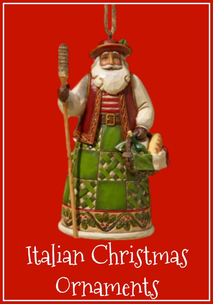 more italian themed christmas ornaments italian santa thumbnail - Italian Christmas Ornaments